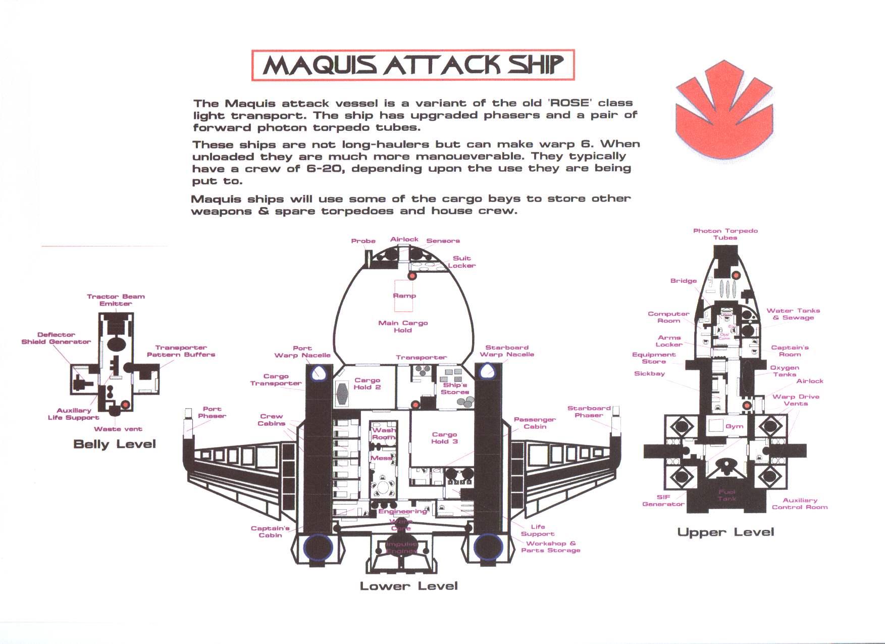 Computer Core Handouts Star Trek Engineering Schematics Get It